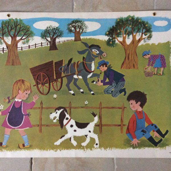 affiche scolaire école Fernand Nathan