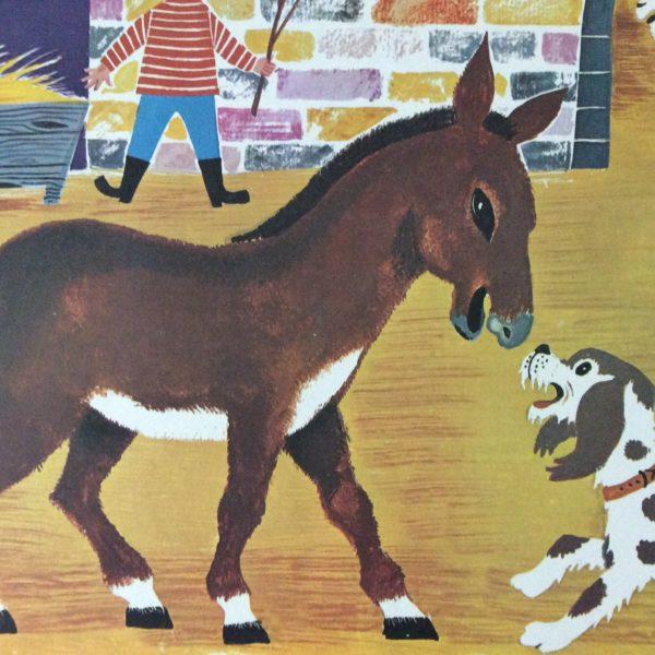 affiche scolaire ancienne Fernand Nathan Daniel et Valérie