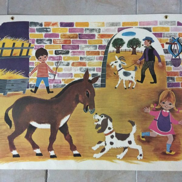 carte scolaire ancienne 1965 Fernand Nathan