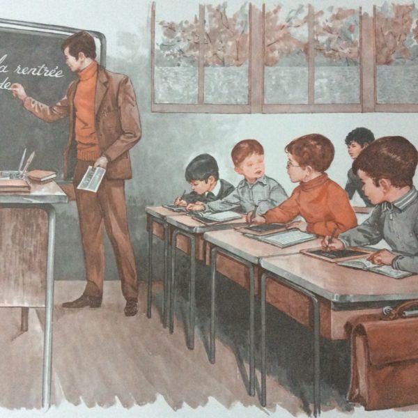affiche scolaire école la salle y