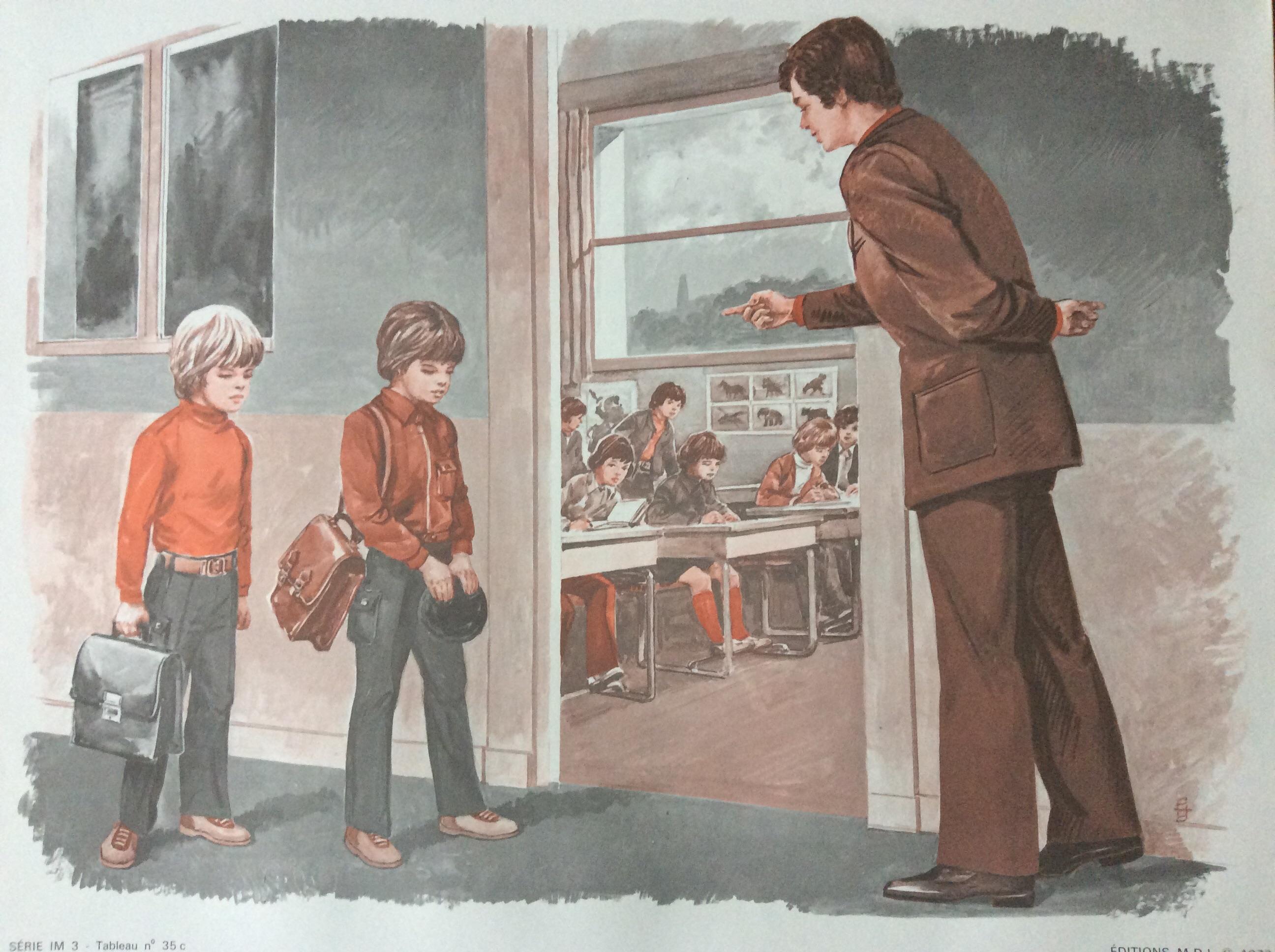affiche scolaire école éditions mdi