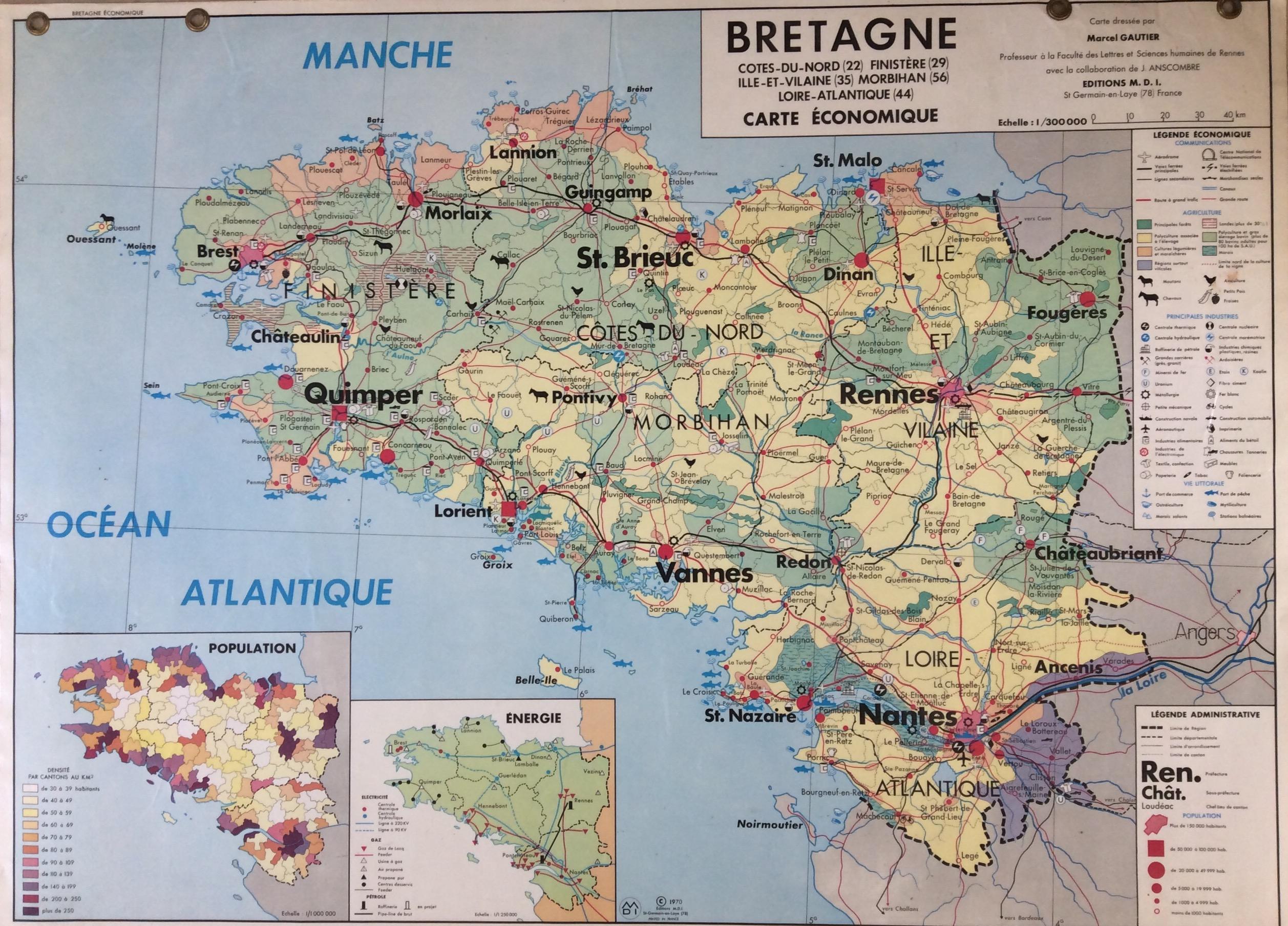 Affiche Scolaire École la Bretagne